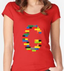 F t-shirt Women's Fitted Scoop T-Shirt