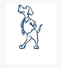 Funny Goofy Pup Tshirt Photographic Print