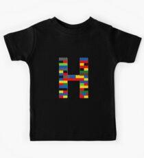 H t-shirt Kids Clothes