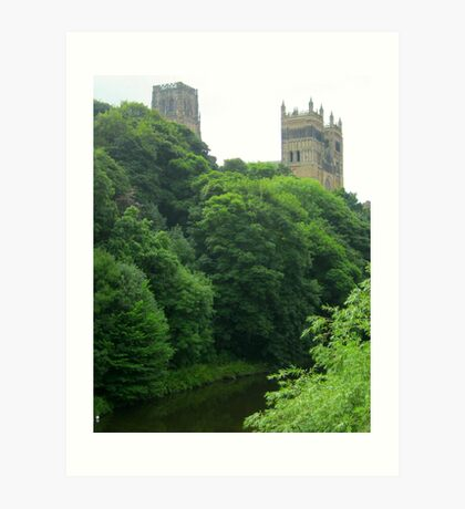 Der River Wear in Durham Kunstdruck