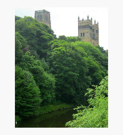 Der River Wear in Durham Fotodruck