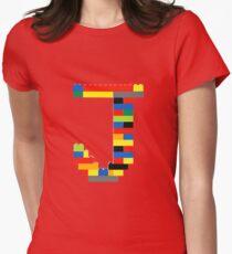 J t-shirt Women's Fitted T-Shirt