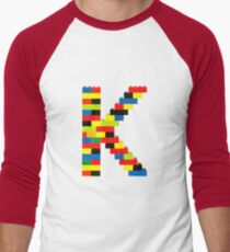 K t-shirt Men's Baseball ¾ T-Shirt