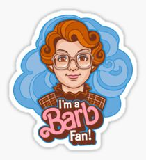 I'm a Barb Fan Sticker
