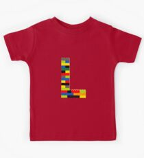 L t-shirt Kids Clothes