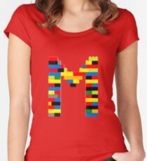 M t-shirt Women's Fitted Scoop T-Shirt