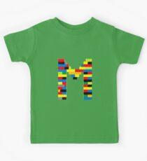 M t-shirt Kids Clothes