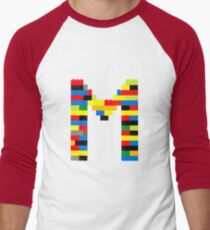 M t-shirt Men's Baseball ¾ T-Shirt