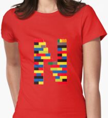 N t-shirt Womens Fitted T-Shirt