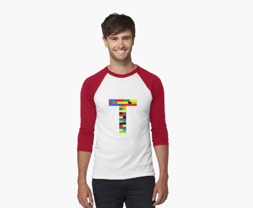 T t-shirt by Addison