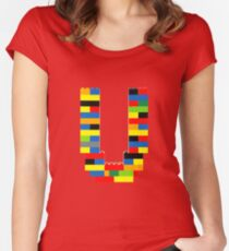 U t-shirt Women's Fitted Scoop T-Shirt