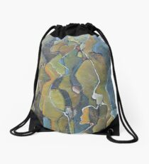 The hearts of my roots Drawstring Bag