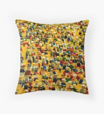 Lego People Throw Pillow