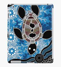 Aboriginal Art Authentic - Sea Turtles iPad Case/Skin