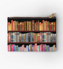 Jane austen antique books & other British antique books Zipper Pouch