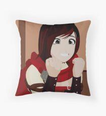 ITS GOT A CUTE LITTLE BUNNY ON IT Throw Pillow