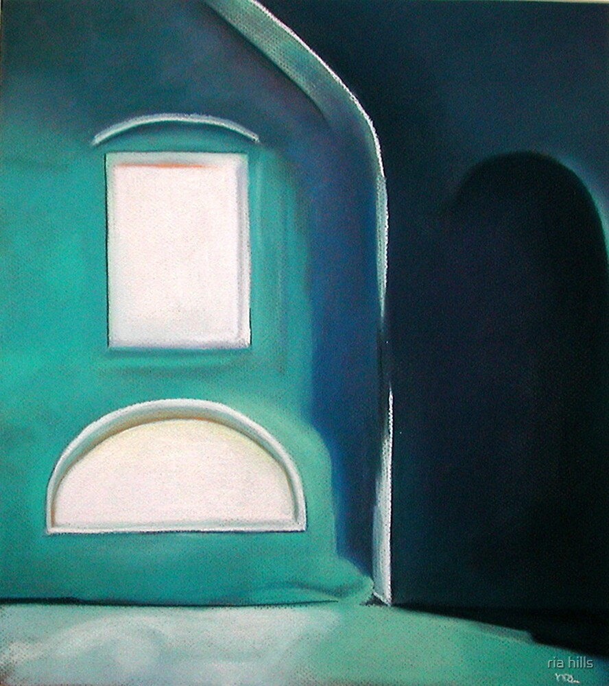 blue room by ria hills