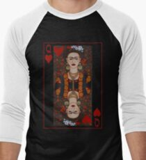 Frida,  Queen of Hearts II Men's Baseball ¾ T-Shirt
