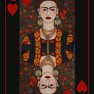Frida,  Queen of Hearts II by Madalena Lobao-Tello
