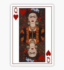 Frida,  Queen of Hearts II Sticker
