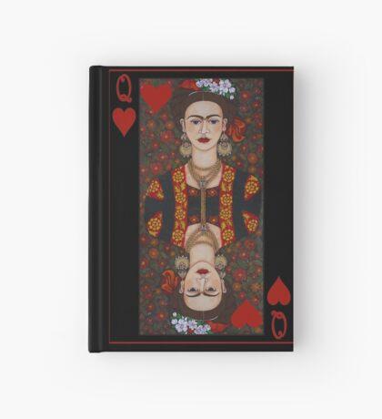 Frida,  Queen of Hearts II Hardcover Journal