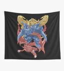 Egyptian God Cards Wall Tapestry