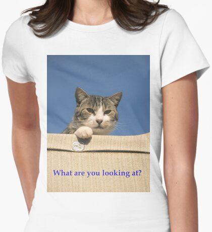 Cattitude T-shirt  T-Shirt
