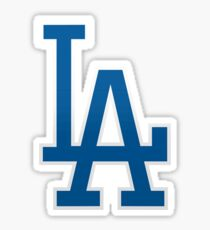 LA Dodgers Sticker