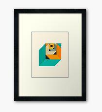 CUBICLE #3 Framed Print
