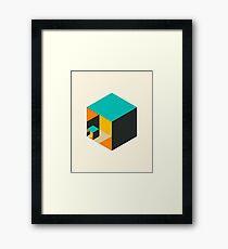 CUBICLE 1 Framed Print
