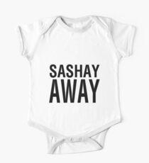 SASHAY AWAY (BLK) One Piece - Short Sleeve
