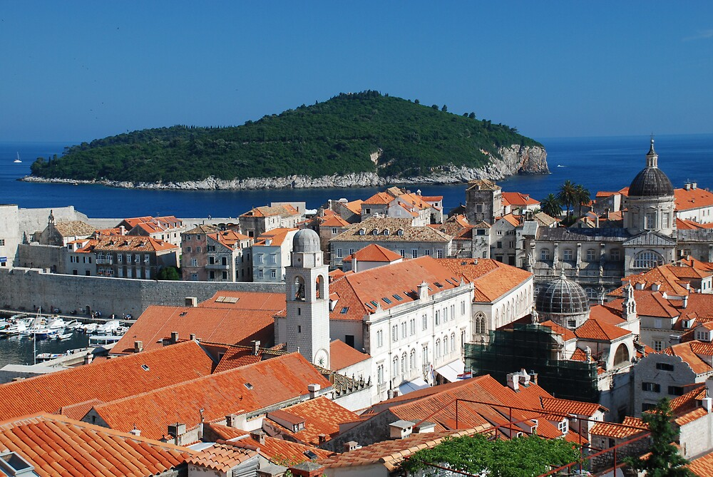 Dubrovnik by Angus Russell