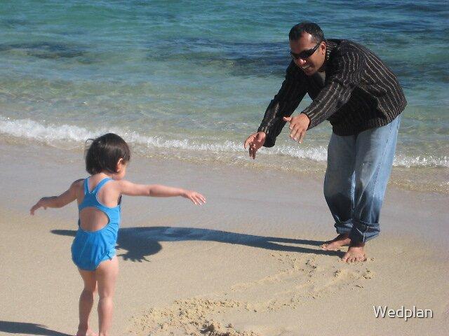 Tisha and Papa by Wedplan