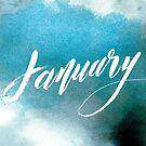 January by almahoffmann