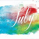 July by almahoffmann