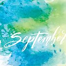September by almahoffmann