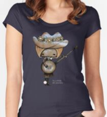 country girl Women's Fitted Scoop T-Shirt