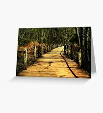 The Path Less Taken Greeting Card