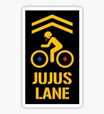 JuJus Lane 1 Sticker
