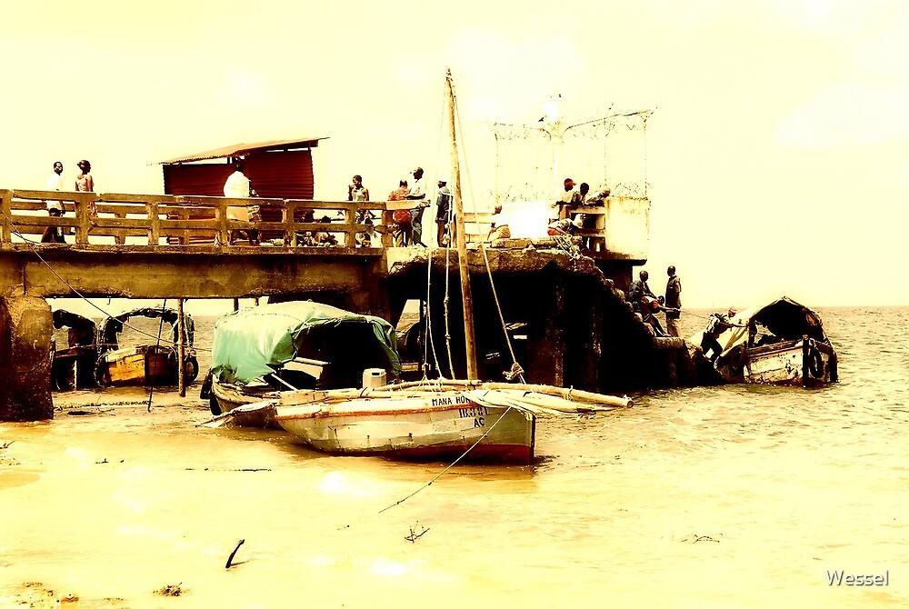 Porto de Inhambane, Moçambique by Wessel