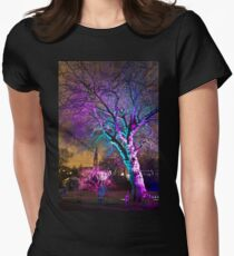 Oran Mor from the Electric Gardens Women's Fitted T-Shirt
