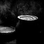 Boiling Pots by Vivek George Koshy