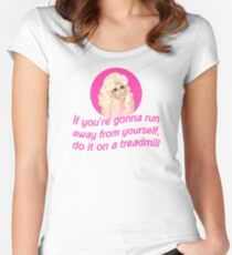 Trixie Mattel Treadmill - Rupaul's Drag Race Women's Fitted Scoop T-Shirt