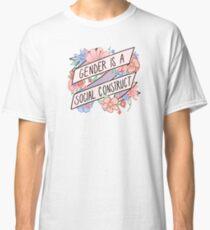Gender Is A Social Construct Classic T-Shirt