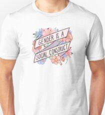 Camiseta unisex El género es una construcción social