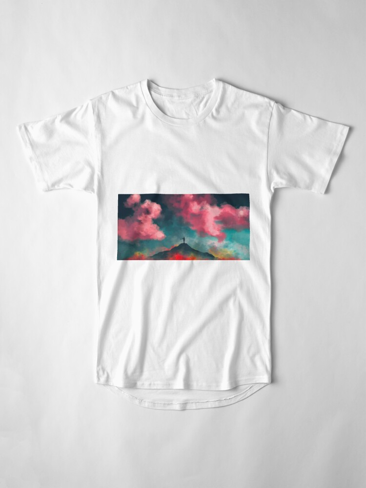 Alternate view of Anxieties Away Long T-Shirt
