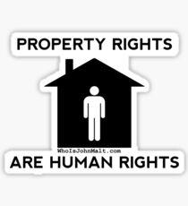 Property Rights Sticker