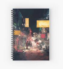 The Closing Hours Spiral Notebook