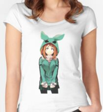 TSUYU ASUI Women's Fitted Scoop T-Shirt