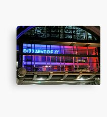 Pizza Express Canvas Print